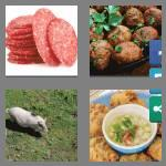 4 pics 1 word 4 letters pork