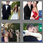 4 pics 1 word 4 letters prom