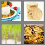 4 pics 1 word 4 letters rice
