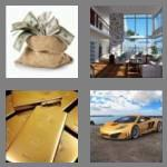 4 pics 1 word 4 letters rich