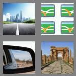 4 pics 1 word 4 letters road
