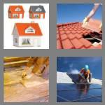 4 pics 1 word 4 letters roof