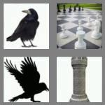4 pics 1 word 4 letters rook
