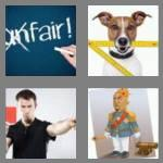 4 pics 1 word 4 letters rule