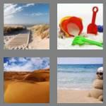 4 pics 1 word 4 letters sand