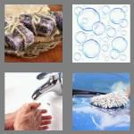 4 pics 1 word 4 letters soap