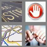 4 pics 1 word 4 letters stop