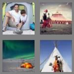 4 pics 1 word 4 letters tent