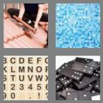 4 pics 1 word 4 letters tile