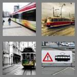4 pics 1 word 4 letters tram