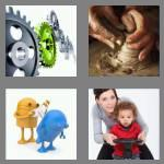4 pics 1 word 4 letters turn