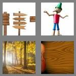 4 pics 1 word 4 letters wood