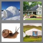 4 pics 1 word 5 letters abode