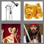 4 pics 1 word 5 letters actor