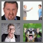 4 pics 1 word 5 letters anger