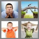 4 pics 1 word 5 letters antsy