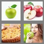 4 pics 1 word 5 letters apple