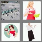 4 pics 1 word 5 letters apron