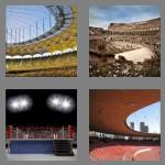 4 pics 1 word 5 letters arena