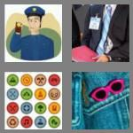4 pics 1 word 5 letters badge