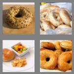 4 pics 1 word 5 letters bagel