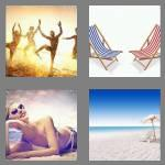 4 pics 1 word 5 letters beach