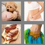 4 pics 1 word 5 letters belly