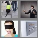 4 pics 1 word 5 letters blind