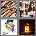 4 pics 1 word 5 letters books