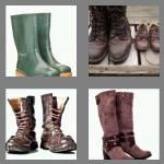 4 pics 1 word 5 letters boots