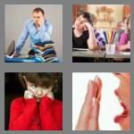 4 pics 1 word 5 letters bored