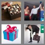 4 pics 1 word 5 letters boxed