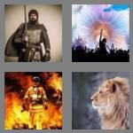 4 pics 1 word 5 letters brave