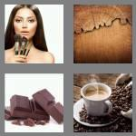 4 pics 1 word 5 letters brown