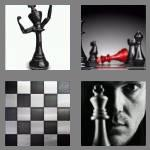 4 pics 1 word 5 letters chess