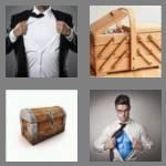 4 pics 1 word 5 letters chest