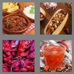 4 pics 1 word 5 letters chili