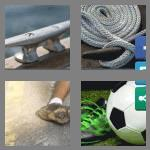 4 pics 1 word 5 letters cleat