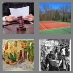 4 pics 1 word 5 letters court