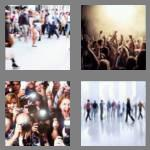 4 pics 1 word 5 letters crowd