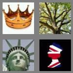 4 pics 1 word 5 letters crown