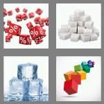 4 pics 1 word 5 letters cubes