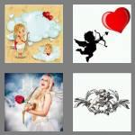 4 pics 1 word 5 letters cupid