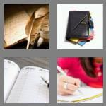 4 pics 1 word 5 letters diary