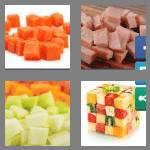 4 pics 1 word 5 letters diced