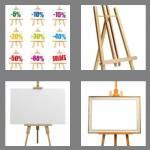 4 pics 1 word 5 letters easel