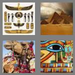 4 pics 1 word 5 letters egypt