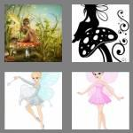 4 pics 1 word 5 letters fairy