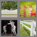 4 pics 1 word 5 letters fence