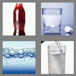 4 pics 1 word 5 letters fizzy